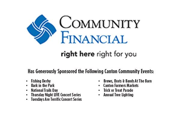 Community Financial Credit Union Sponsorship Logo